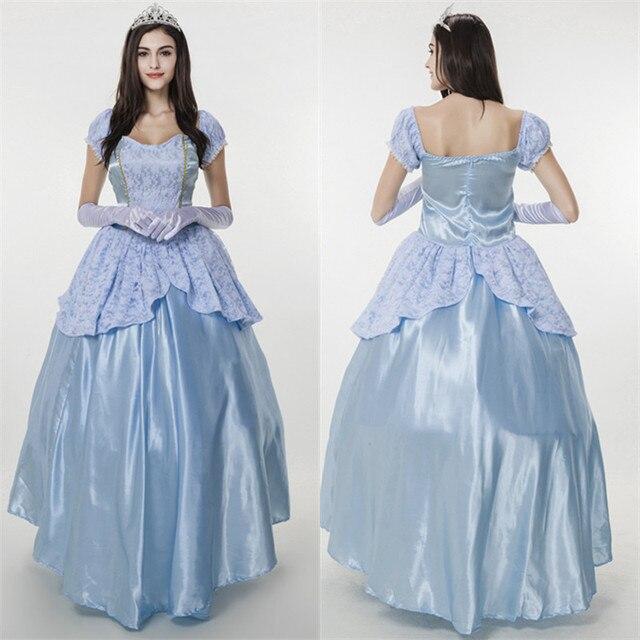 Prinzessin Kostüm Königin Volles Kleid Weihnachten Ballkleid ...