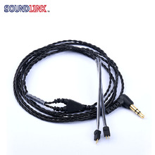 Free Shipping ! Headphone Upgrade Cable Wire Headset Audio Cable For In Ear Monitor Music Earphones