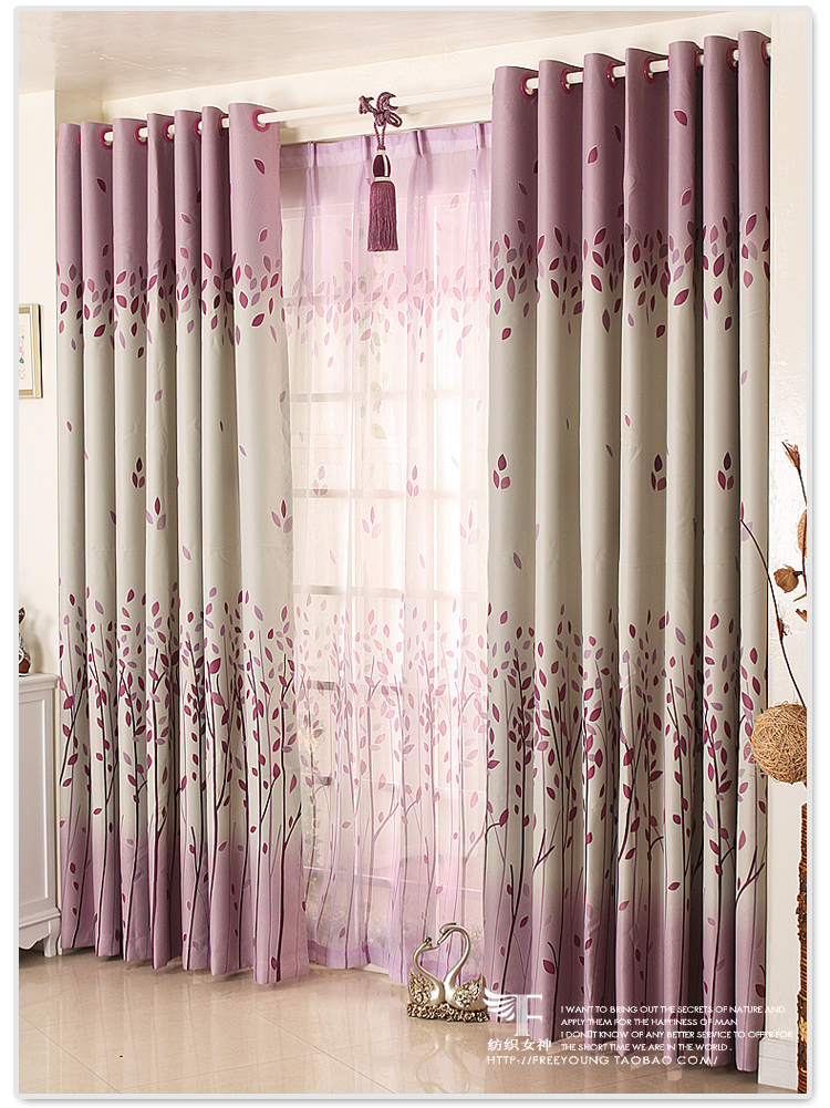 Textile GoddessKorean Garden Shade Cloth Curtains Bedroom IKEA Product Customization Romantic In From Home On Aliexpress