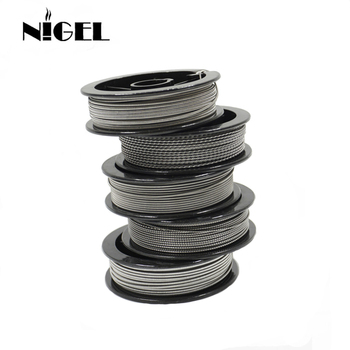 Nigel Kantal A1 Electronic Cigarette Heating Wire 24g 26g 28g 30g 32g For RDA RTA Vape Tank DIY Prebuilt Coil Resistance Wire цена 2017