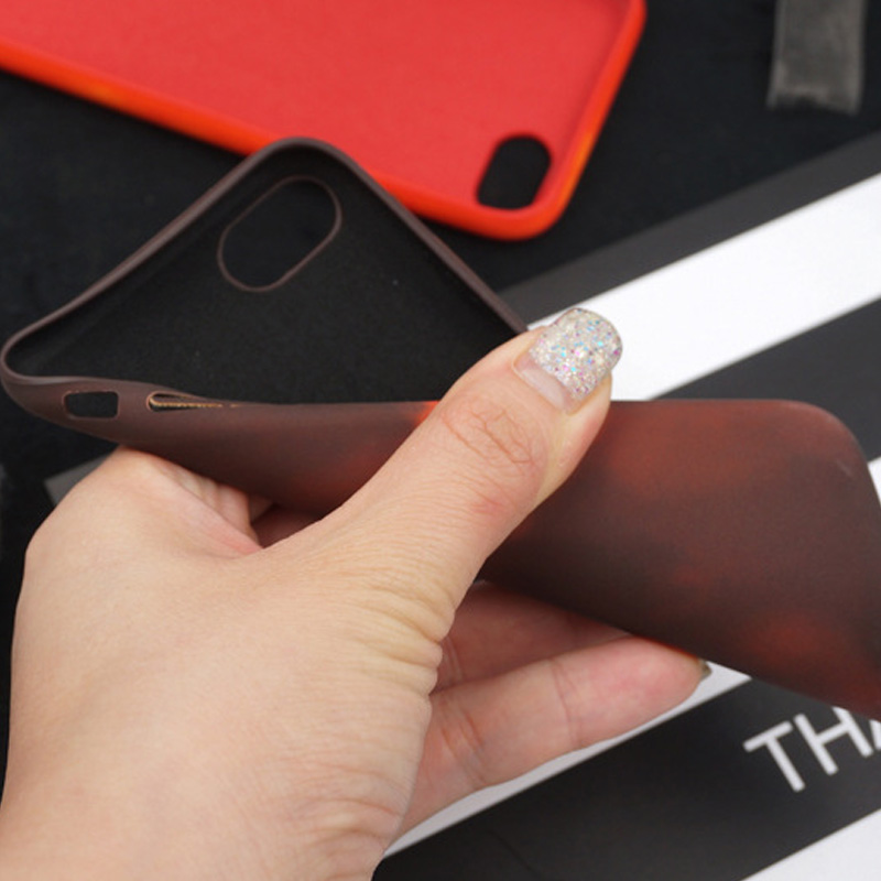Tfshining PU termisk sensor värmekänslig etui för iphone X XR XS - Reservdelar och tillbehör för mobiltelefoner - Foto 3