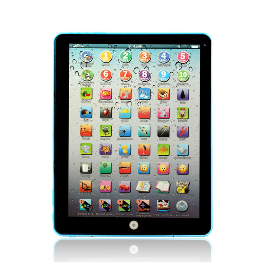 Russian Computer Learning Education Machine Tablet Toy Gift For Kid BU for Children kids Toy D50