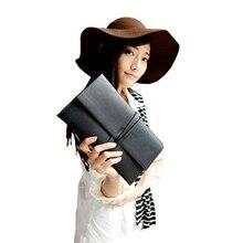 Nouvelle arrivée Luxe Femmes De Mode Enveloppe sac de Soirée Lady Sac À Main en cuir Enveloppe Sac Jour D'embrayage de Femmes Bolsa mujer XA223B