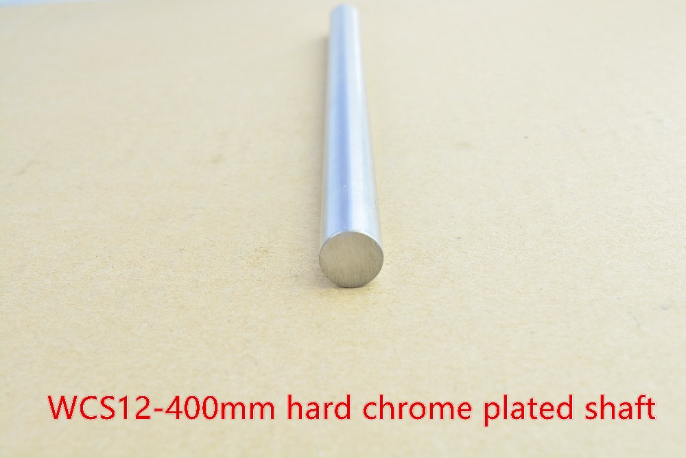 3D printer rod shaft 12mm linear shaft length 400mm chrome plated linear guide rail round rod shaft for cnc robot 1pcs 1pc sbr20 linear guide rail length 300mm chrome plated quenching hard guide shaft for cnc