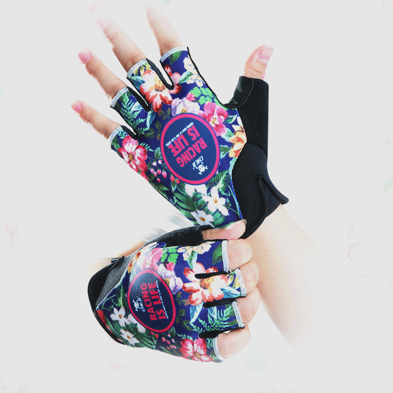 Q366 Cycling font b Gloves b font Mountain Road Bicycle Shockproof Breathable Sleeveless Pink Women s