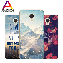 Meizu m3 mini Case,Silicon scenery Painting Soft TPU IMD Back Cover for Meizu m3s mini Transparent Phone Bags