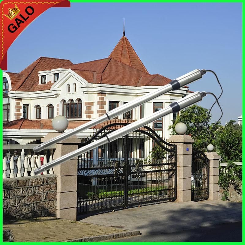 300kg Dual Swing Gate Opener Motor operator for Villa courtyard door,open the with two pairs of swings Gate galo 300 kg double arms swing gate opener door motor kit with 1 pair of photocells 1 alarm light