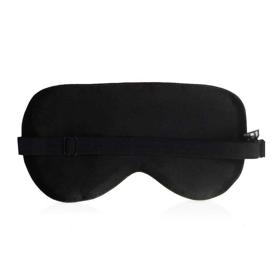 100% Natural Mulberry Silk Sleep Mask Blindfold Super Smooth Eye Mask Sleeping Aid Eyeshade Eye Cover Patch Bandage for Sleep 2