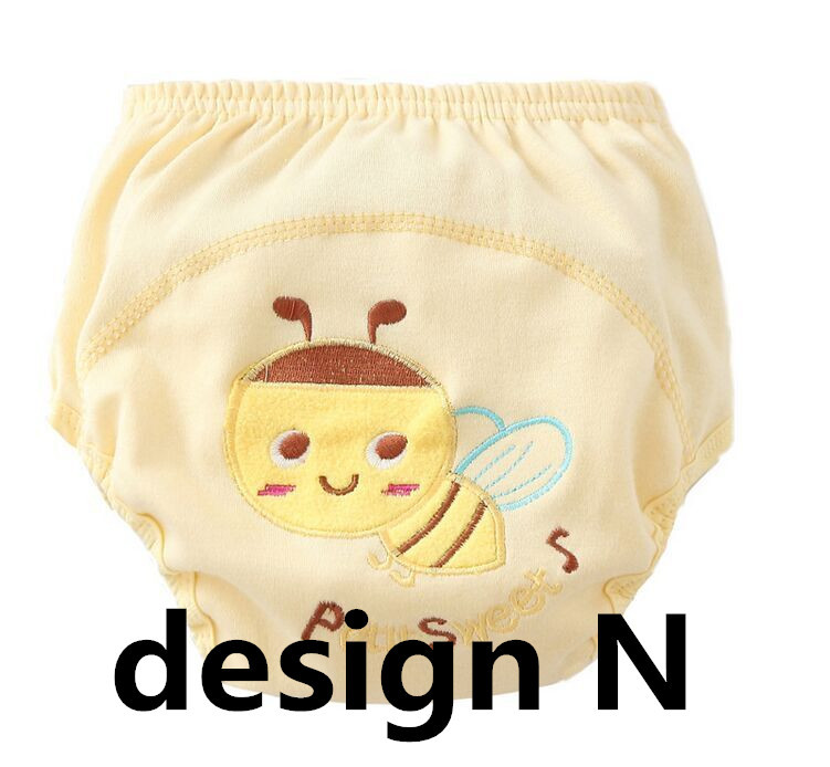 6pc/Lot Baby Training Pants New Children Study Diaper Underwear/Infant Learning Panties Newborn Cartoon Diapers Trx0001
