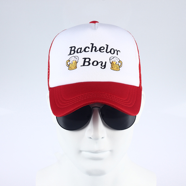 Bachelor Boy Baseball Cap