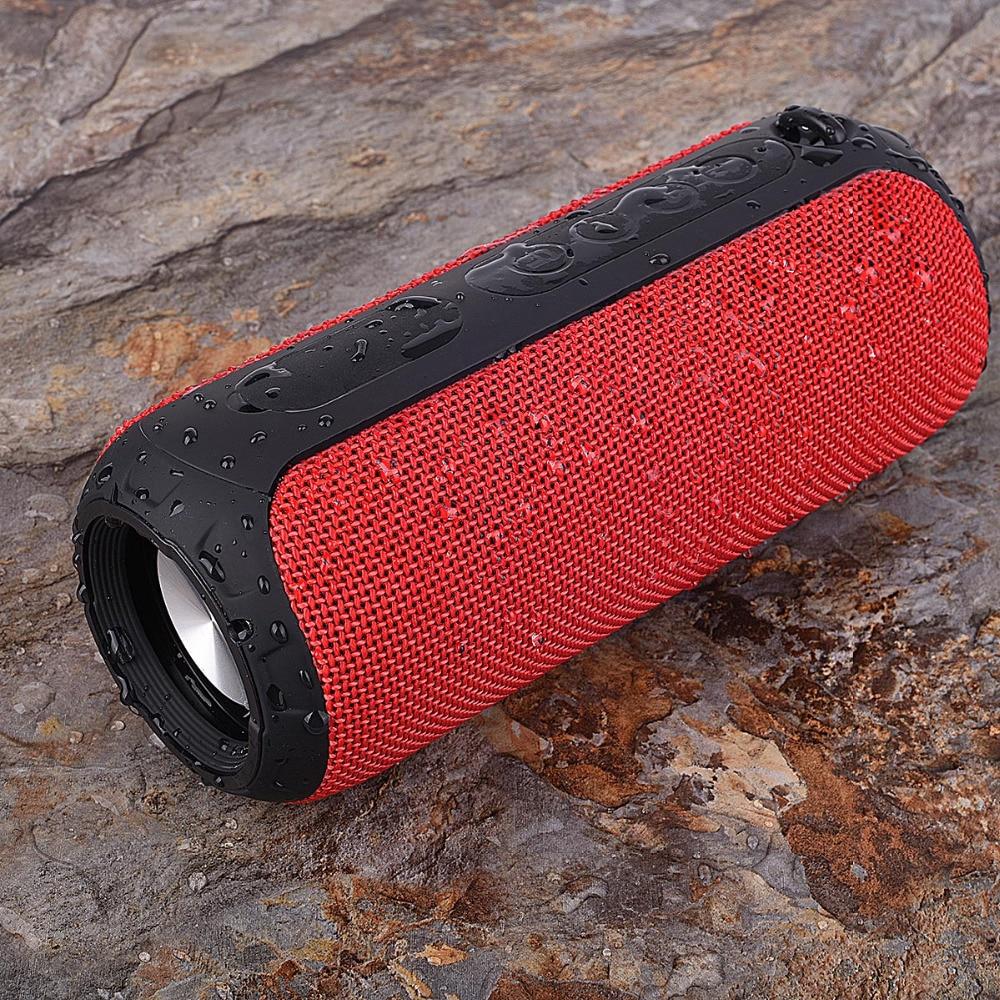 Altavoz inalámbrico portátil Rojo Impermeable IPX6 Al aire libre - Audio y video portátil
