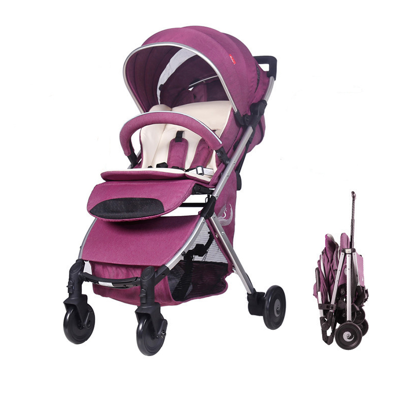 Baby carriages for newborns can sit and lie down folding prams 2 in 1 stroller children buggy car carriage trolleys все цены