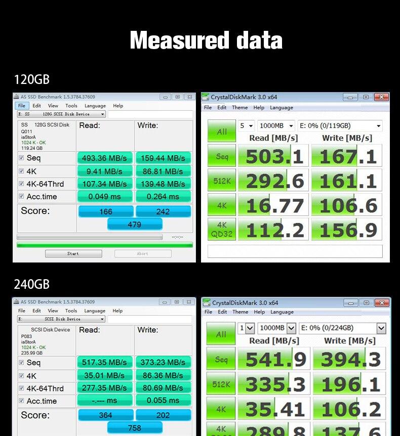 Suntrsi Ssd S660st 240gb Internal Solid State Disk 120gb 60gb High
