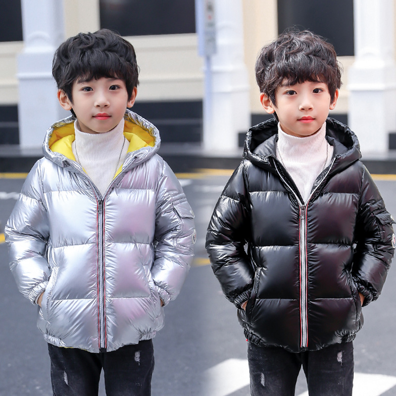 fashion 2018 winter hooded jackets for big boys white duck down coats kids outerwear tops clothing children down jacket clothes стоимость
