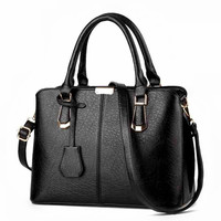 New High Quality Women Handbags Women S Bags 2018 Female Luxury PU Tote Bag Ladies Women