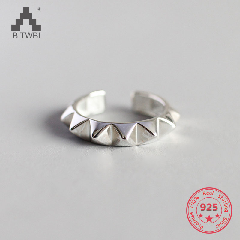 S925 Sterling Silver Retro Artistic Punk Style Wolf Tooth Adjustable RingS925 Sterling Silver Retro Artistic Punk Style Wolf Tooth Adjustable Ring