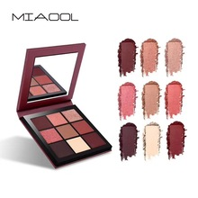 Brand New Makeup Palette 9 Color Obsessions Eyeshadow Palette Natural Smokey Eye Shadow Highly Pigmented Nude Eyeshadow Cosmetic