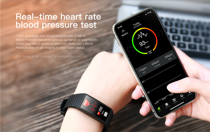 MAFAM ECG HRV Smart Watch Heart Rate Blood Pressure Monitor Smartwatch Fitness Tracker Sport IP68 Waterproof For Android IOS (3)