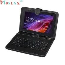 Venta Caliente de Calidad superior Universal Funda de Cuero con Micro USB de Teclado Para 9 pulgadas Tablet PC para Nexus 9 de JUNIO 21