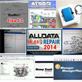 2017 Alldata 10.53 all data auto repair software alldata mitchell on demand 2015+manager+heavy truck+vivid workshop 49in 1tb hdd