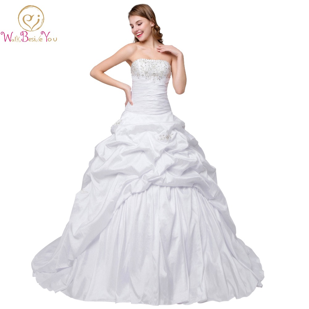 100% Real Image 2017 Cheap Wedding Dresses Embroidery