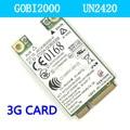 H P GOBI2000 UN2420 WWAN 3G Wireless Card HSPA/WCDMA GSM/GPRS GSM/GPRS EDGE 2540P 2740P 8440 P 8440 W8540P 8540 W8740P 3G  CARD