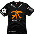CSGO Dota2 Champion Game Team Fnatic T Shirt O Neck cotton casual Tees steelseries Game Athletics T-Shirt