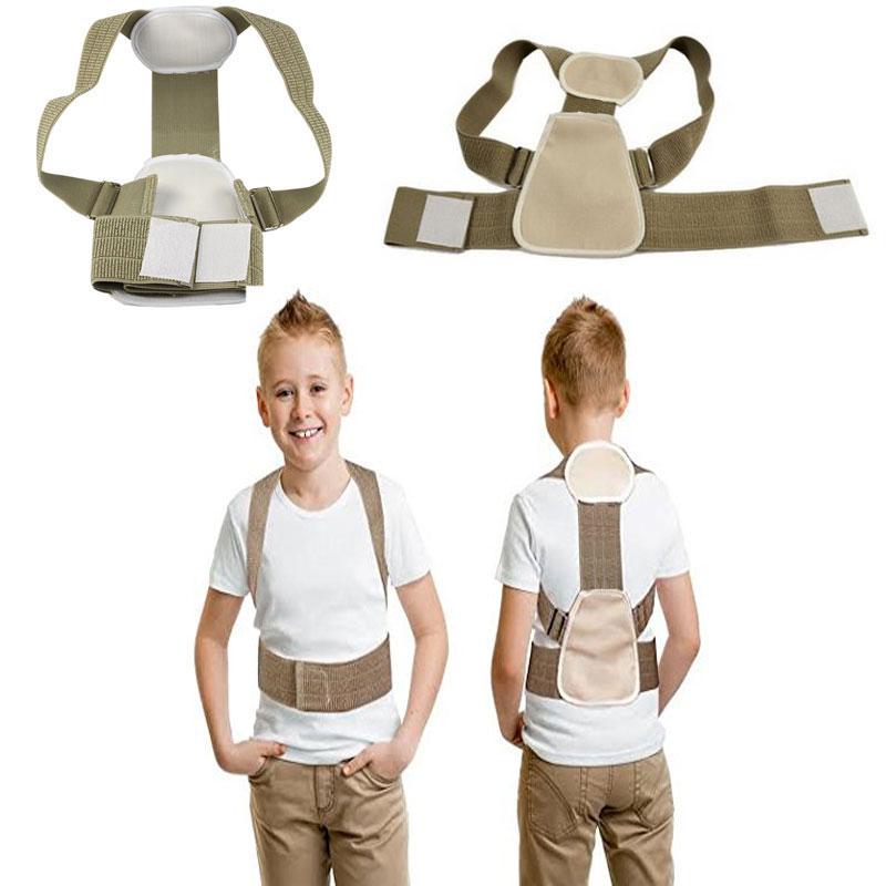 Drop shipping Teenage Posture Corrector Correction Orthosis Back Support Back Posture Correction Flexible Back Belt for Child