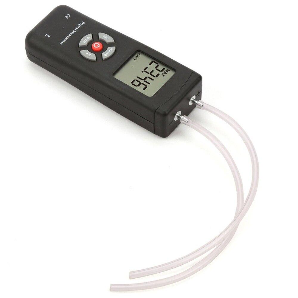TL 100 Digital Manometer Air Pressure Meter Portable Pressure Gauges Handheld U type Differential Pressure Meter