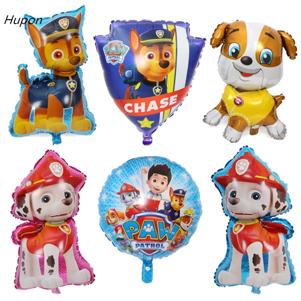 44*79cm Dogs Patrol Balloon Kids Birthday Party Decorations Chase Skye Helium Foil Baloons Toys Event Party Supplies Big Size  ...