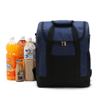 Large Thicken Folding Fresh Keeping Waterproof Nylon Cooler Lunch Bag For Steak Insulation Thermal Bag Insulation