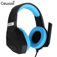 Professional for PS4 Gaming Headset Gamer casque 3.5mm PC Stereo Headphones with Microphone LED Lights for Xbox One