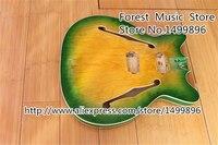 Урожай 1960 х годов стиль Полуакустические гитары тело без hardwre Китай музыкальный инструмент в наличии