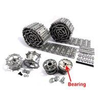 Mato Metal Upgraded Tracks Sprockets Idler Wheels Parts Set For Heng Long 3888 1 1 16