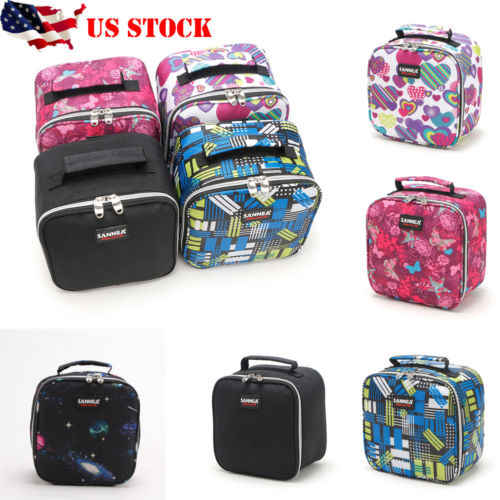 Insulated Lunch Bag Box for Women & Men Thermos Cooler Hot Cold Adult Tote Food