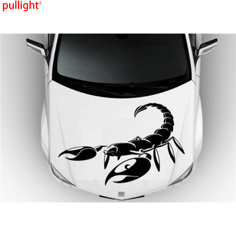Hot Sell Large Car Vinyl Decal Art Sticker Graphics Scorpion With Big Claws Animal