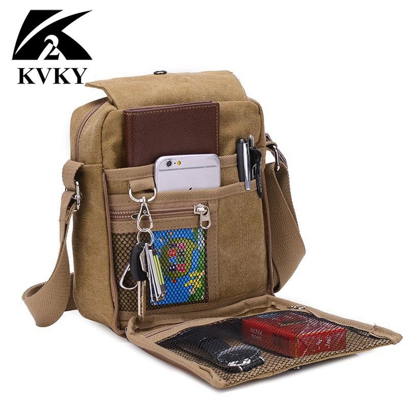 Multifunction Men Canvas Messenger Bag Casual Multifunction Small Women Travel Bag Canvas Shoulder Crossbody Bag Black Wholesale цена 2017