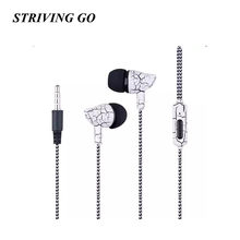 09 Earphones 3.5mm In-Ear Headset Music Sport Earbuds With Mic for iPhone Xiaomi Samsung PK Bluetooth Earphone S8 Am115 S6 S4(China)
