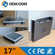 17» industrial pc resistive touch screen 4GB DDR3 32G SSD Resolution 1280×1024 2GB RAM 32G SSD with Intel Celeron C1037U 1.8GHz