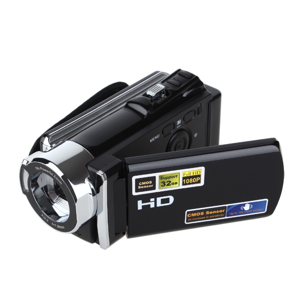 Digital Video Camera DV DVR Full HD 1080P 16MP Camcorder 3'' TFT LCD 16x Optical ZOOM HDMI dv613a full hd 1080p digital video recorder camcorder 16x zoom digital dv camera kit black video camera up 16mp