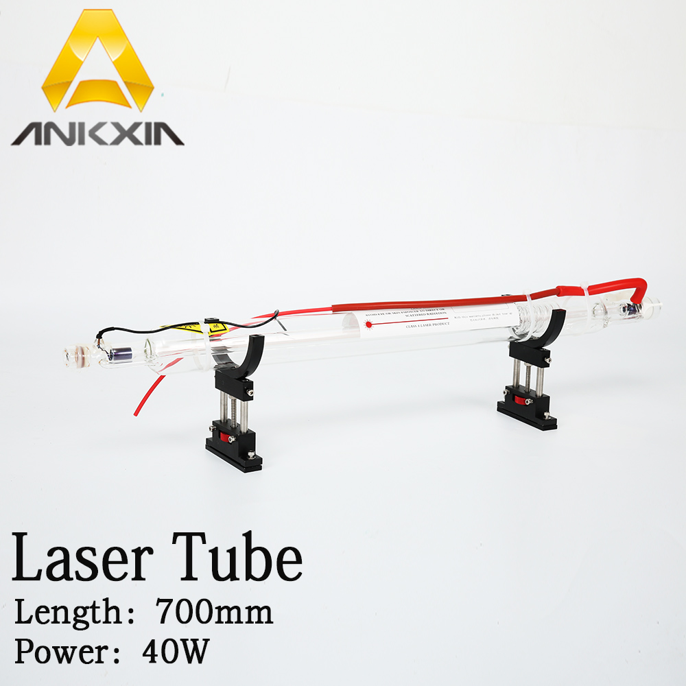 цена на Glass Laser Tube Co2 40w For Co2 Laser Cutting Engraving Machine Diameter 50mm Length 700mm