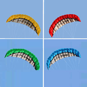 Ametoys Outdoor Power Stunt Parafoil Kite with Line Kite