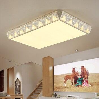 Hiện đại đã dẫn trần ánh sáng Kim Cương Thiết Kế Acrylic Đèn Trần cho phòng Khách phòng Ngủ Bề Mặt gắn Trắng Lamparas de techo