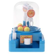 1 набор мини-игра в коготь игрушечные конфеты захватывающий ловушка шары машина захватывающая игрушка креативный Ловец игрушка; развивающая игрушка для детей синий