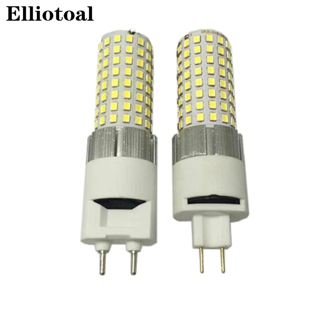 10pcs lot G8 5 G12 LED corn light 20W 2400lm 3200lm bulb with fan lamp high