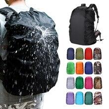20L-80L водонепроницаемый рюкзак с защитой от пыли чехол от дождя Портативный Сверхлегкий плечевой защитный походный спортивный Чехол