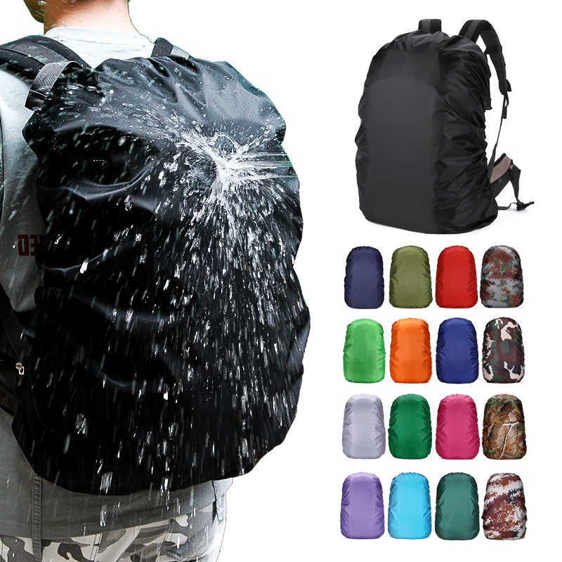 20L-80L Waterproof Dustproof Backpack Rain Cover Portable Ultralight Shoulder Protect Hiking Sport Bag Covers