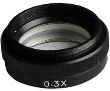 Cheaper 0.3X Auxilliary objective lens for Digital Video Microscope