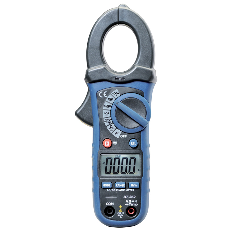 Automatic range ac/dc clip-on table digital clamp meter digital multimeter DT-362 цена
