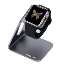 For Apple Watch 38mm 42mm All Edition Durable Aluminium Alloy Charging Stand Lightweight Portable Material Holder Dock Station
